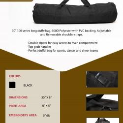 Long Duffel Bag
