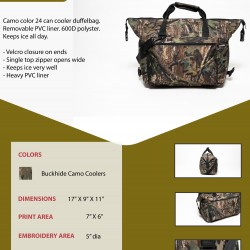 Camouflage 24-Pk Cooler